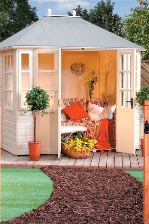 Buy Chatsworth Summer House from the Next UK online shop | Shed ...