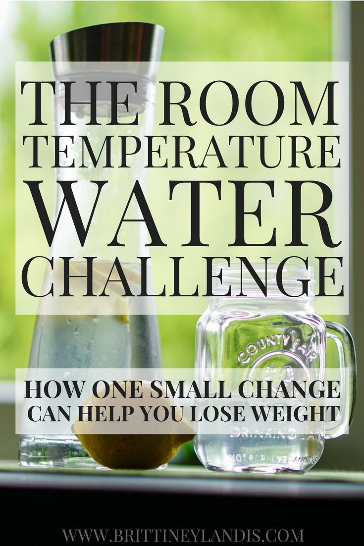 The Room Temperature Water Challenge | Easy tricks, Health benefits ...