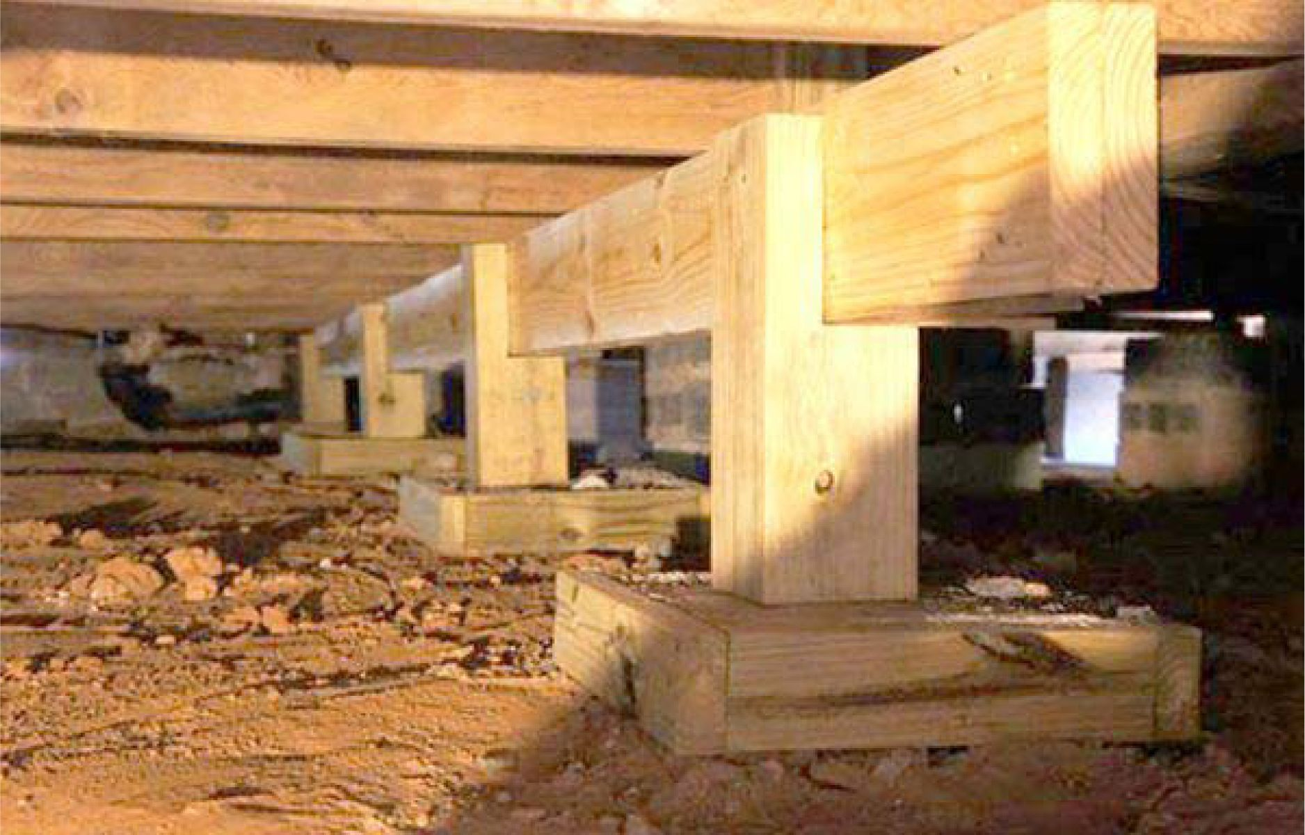 Pier And Beam Foundation To Elevates Your Home Above The Ground