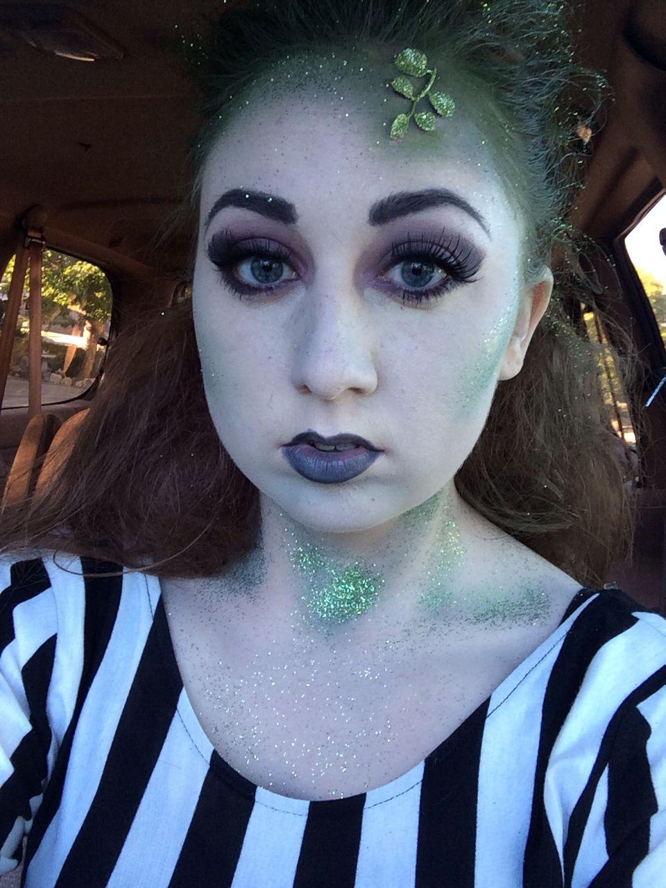 beetlejuice halloween makeup. beetle juice halloween costume female