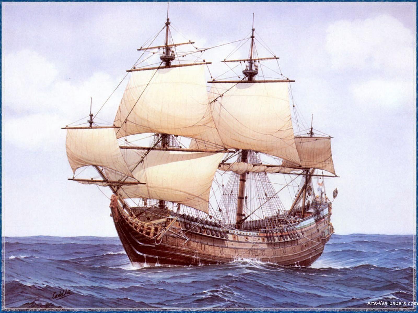 Immigrant Ship Sailing Ships Sailing Old Sailing Ships