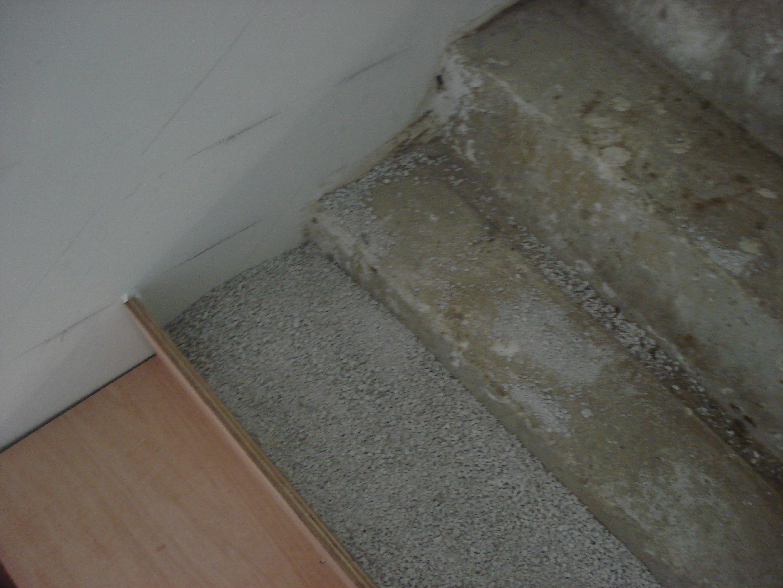 Betonnen Trap Inspiratie : Opvulling fermacell bekleden van betonnen trap met multiplex
