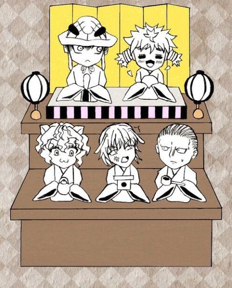 Meruem Komugi Pitou Pouf And Youpi Hunter X Hunter Hunter X Hunter Hunter I Love Anime