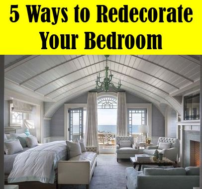 Five Ways to Redecorate Your Bedroom images