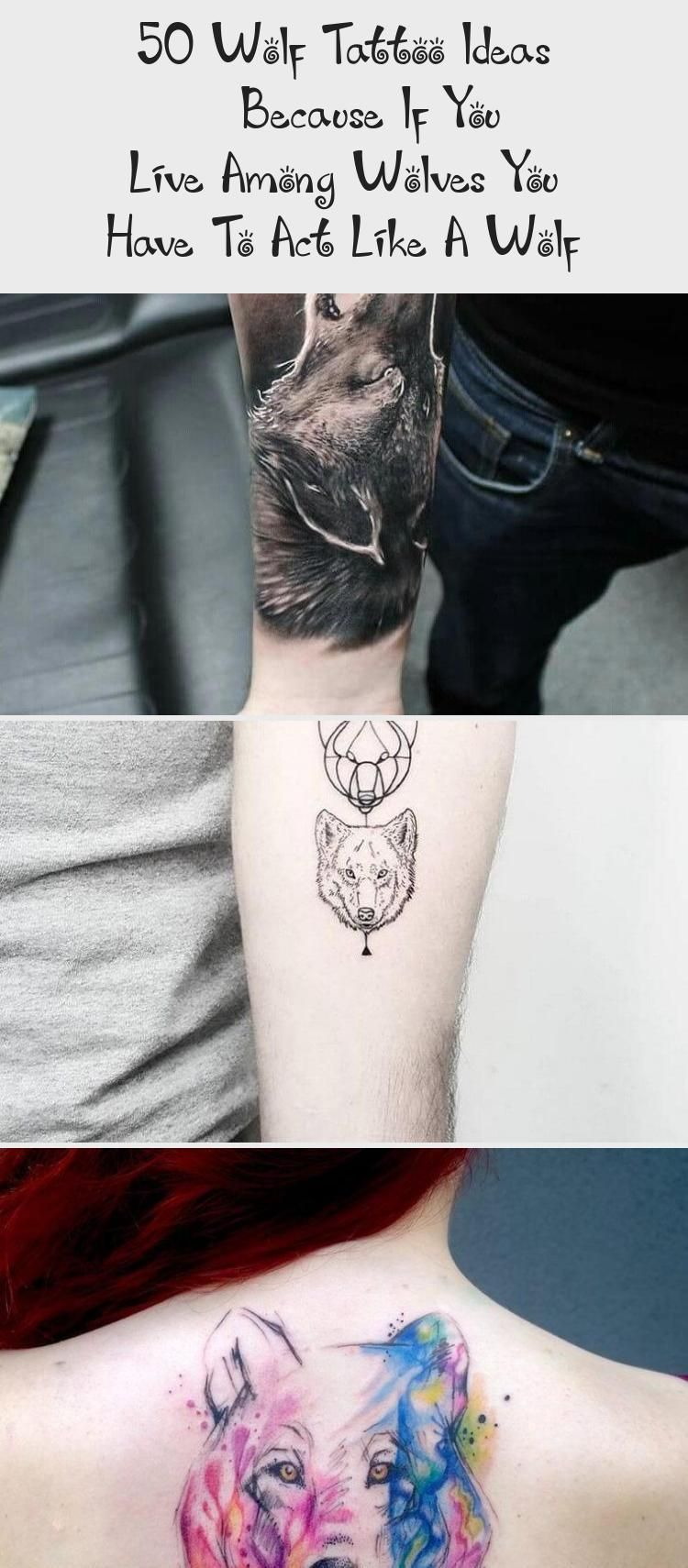 50 Wolf Tattoo Ideas – Because If You Live Among Wolves You Have To Act Like A Wolf – Best Tattoos –  50 Wolf Tattoo Ideas – Because If You Live A…