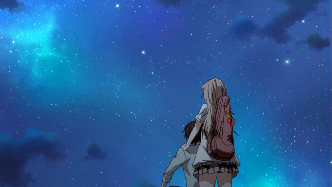 Your Lie In April The World Started To Take On Your Lie In April Anime Romance Shigatsu Wa Kimi No Uso Icons Aesthetic anime wallpaper your lie in