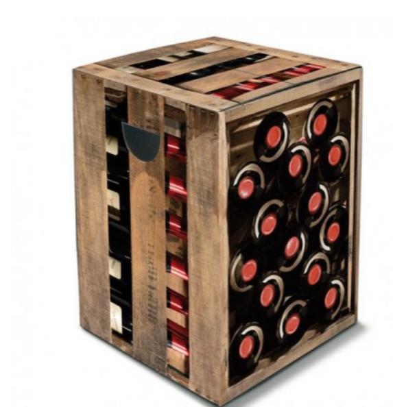 Tabouret Avec Effet Bouteille De Vin Tabouret De Rangement Mobilier En Carton Tabouret Design
