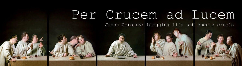 Per Crucem Ad Lucem Jason Goroncy Blogging Life Sub Specie