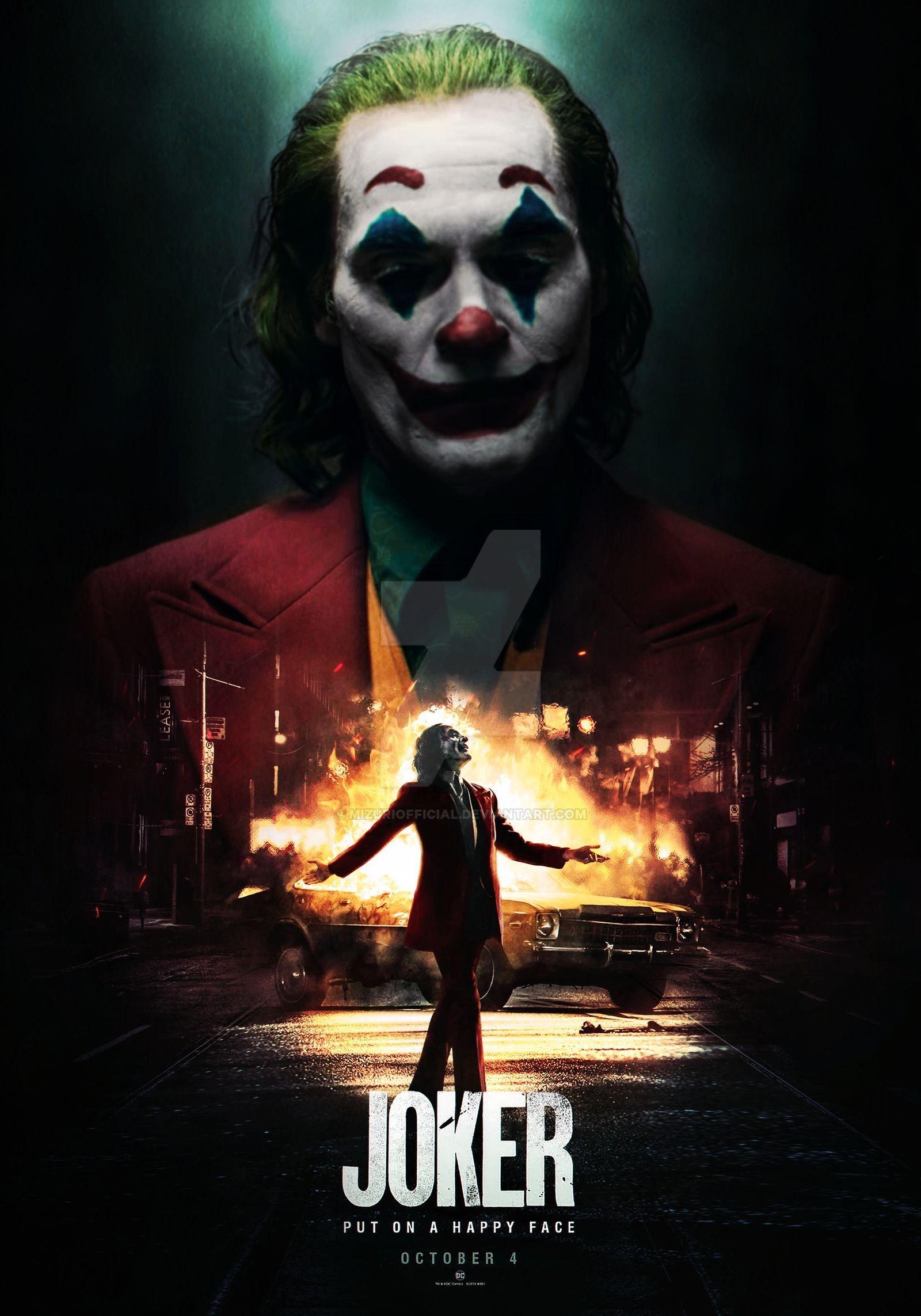 The Joker Chaos By Mizuriofficial On Deviantart Joker Joker Poster Joker Wallpapers