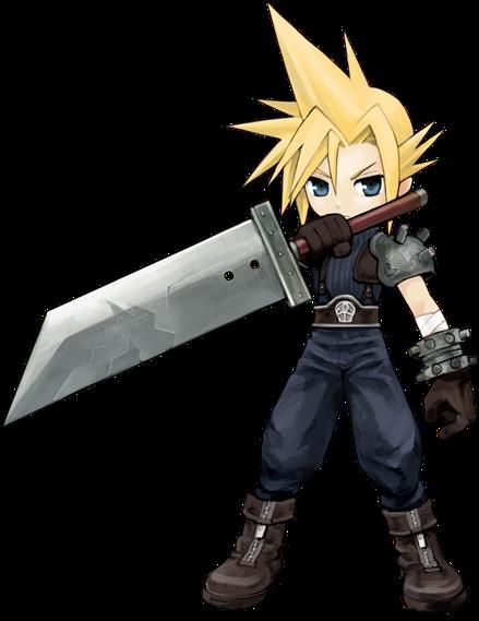 Cloudchibi Png 439 569 Final Fantasy Vii Cloud Final Fantasy Final Fantasy Art