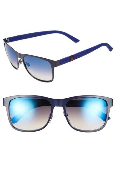 sunglasses with polarized lenses 2lhm  Gucci '2247S' 56mm Polarized Sunglasses available at #Nordstrom