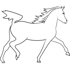 top 55 free printable horse coloring pages online  horse