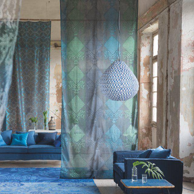 les 25 meilleures id es de la cat gorie tissus rideaux sur pinterest tissus pour rideaux. Black Bedroom Furniture Sets. Home Design Ideas