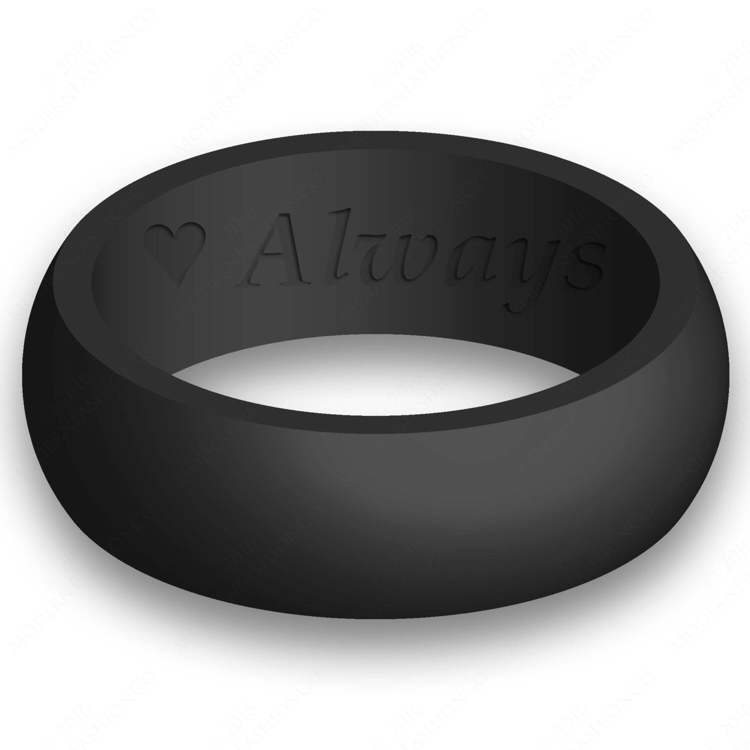 custom engraving mens silicone wedding ring band flexible hypoallergenic safety rubber modern athletic active wear man jewelry - Hypoallergenic Wedding Rings
