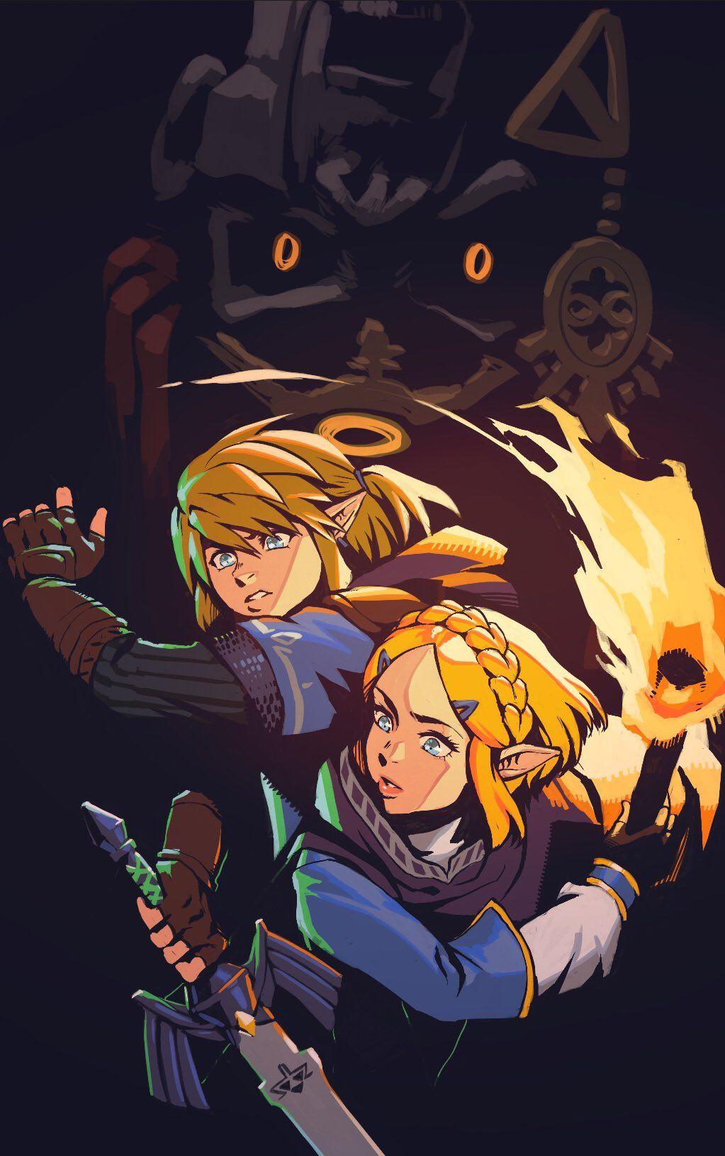 Sai Ax C37 On Twitter Legend Of Zelda Legend Of Zelda Breath Zelda Art