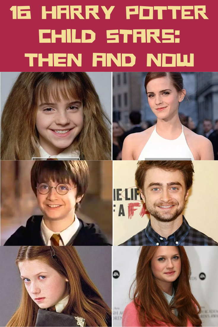 16 Harry Potter Child Stars: Then and Now