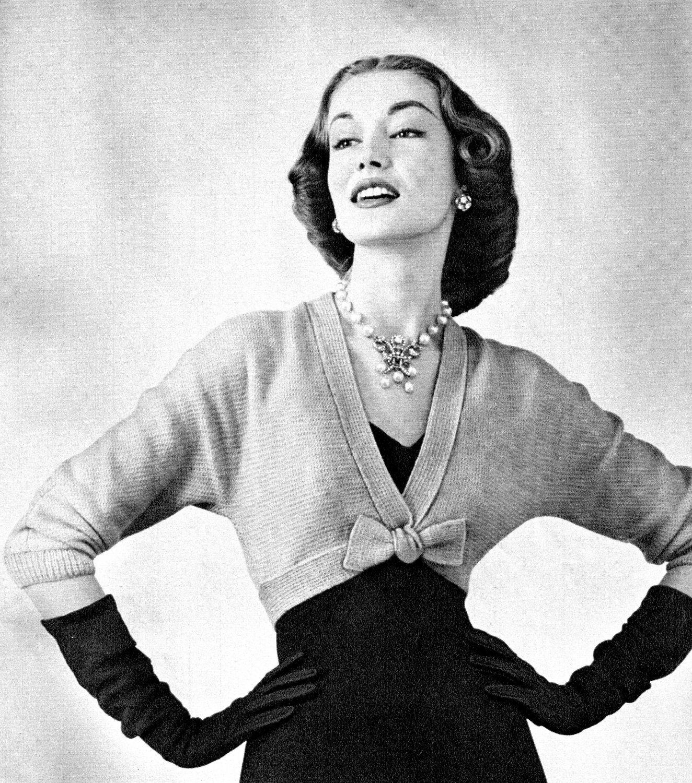 PDF Pattern - Vintage 1950s Wedding BOW-Tie \