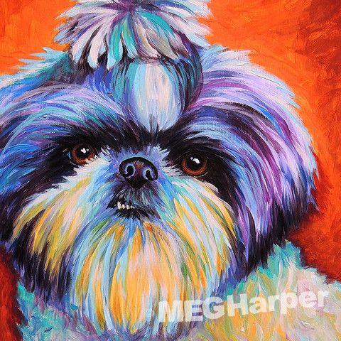 Jojo ~ Custom Painting Dog Art ~ Custom Gifts ~ Pet Portraits — Meg Harper Art  #dog #puppy #best friend #inspirational #kindness #animalpainting #art #painting #pets #petportrait #animal #love #megharper #megharperart