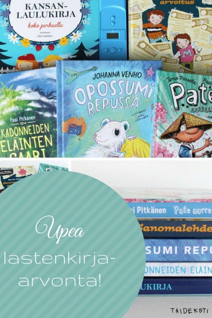 Arvottavana uutta lastenkirjallisuutta Tammelta ja WSOY:ltä
