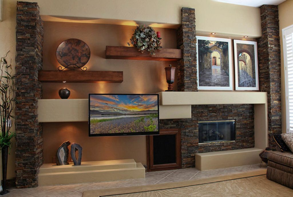 Gallery of Completed Media Walls - by THunderbird Custom Favorite