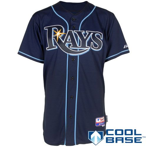 Tampa Bay Rays Authentic Alternate Cool Base Jersey Tampa Bay Rays Jersey Tampa