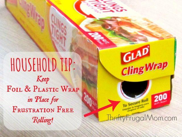 kitchen tip keep plastic