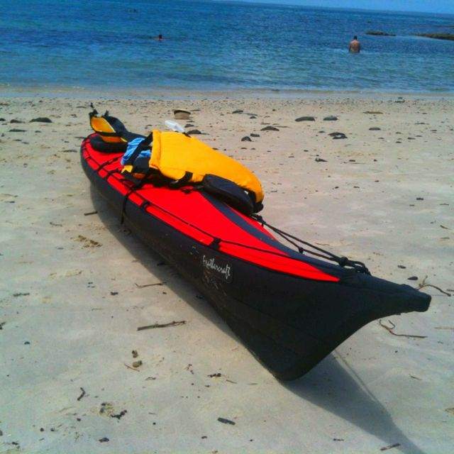 My feathercraft wisper foldable kayak  How's the serenity