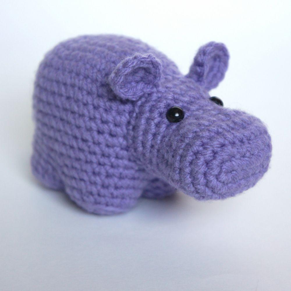 Crochet Hippo Pattern Unique Design