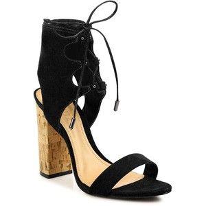 e1c6726bc88b Schutz Women s Cruz Lace-Up Suede Block-Heel Sandals