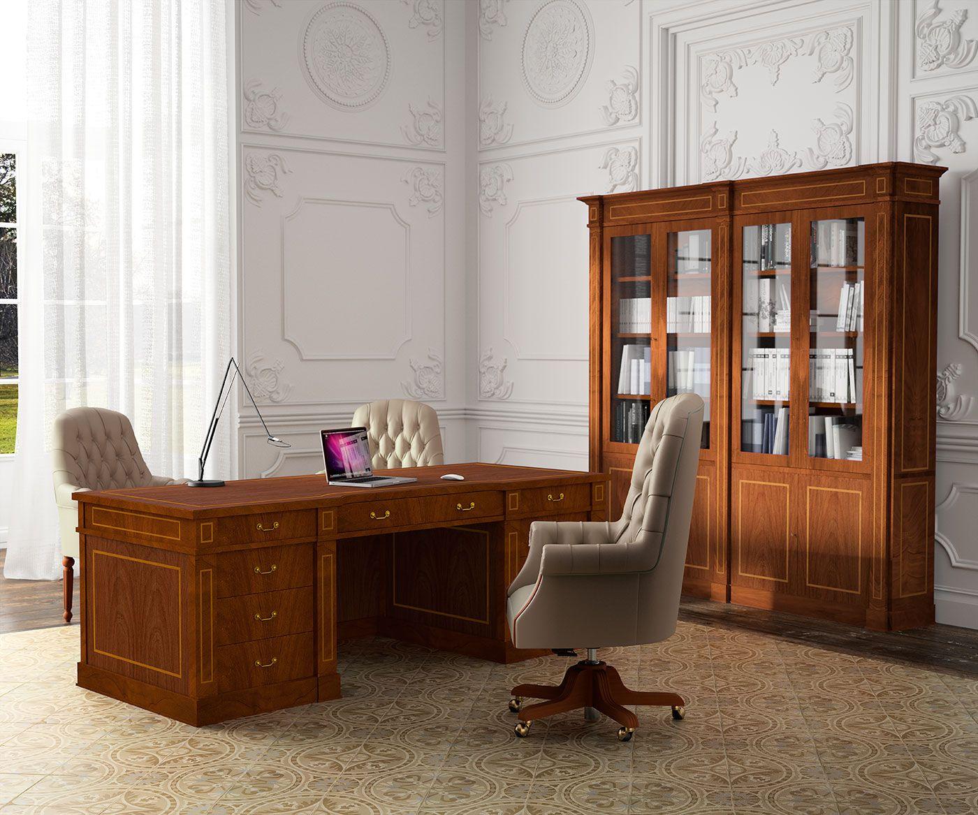 Muebles Cl Sicos De Oficina De La Serie Art Luxe Con Acabados En  # Muebles Direccion