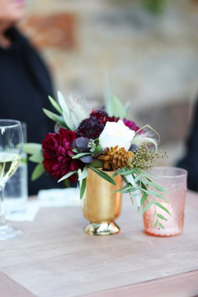 Bohemian Wedding in Carmel with a Fall Color Pallete #fallcolors