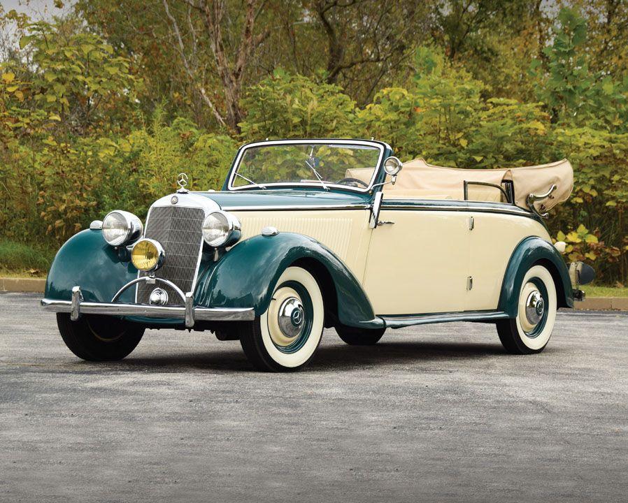 1940 Mercedes-Benz 230 Cabriolet B | Old Rides 4 | Pinterest ...