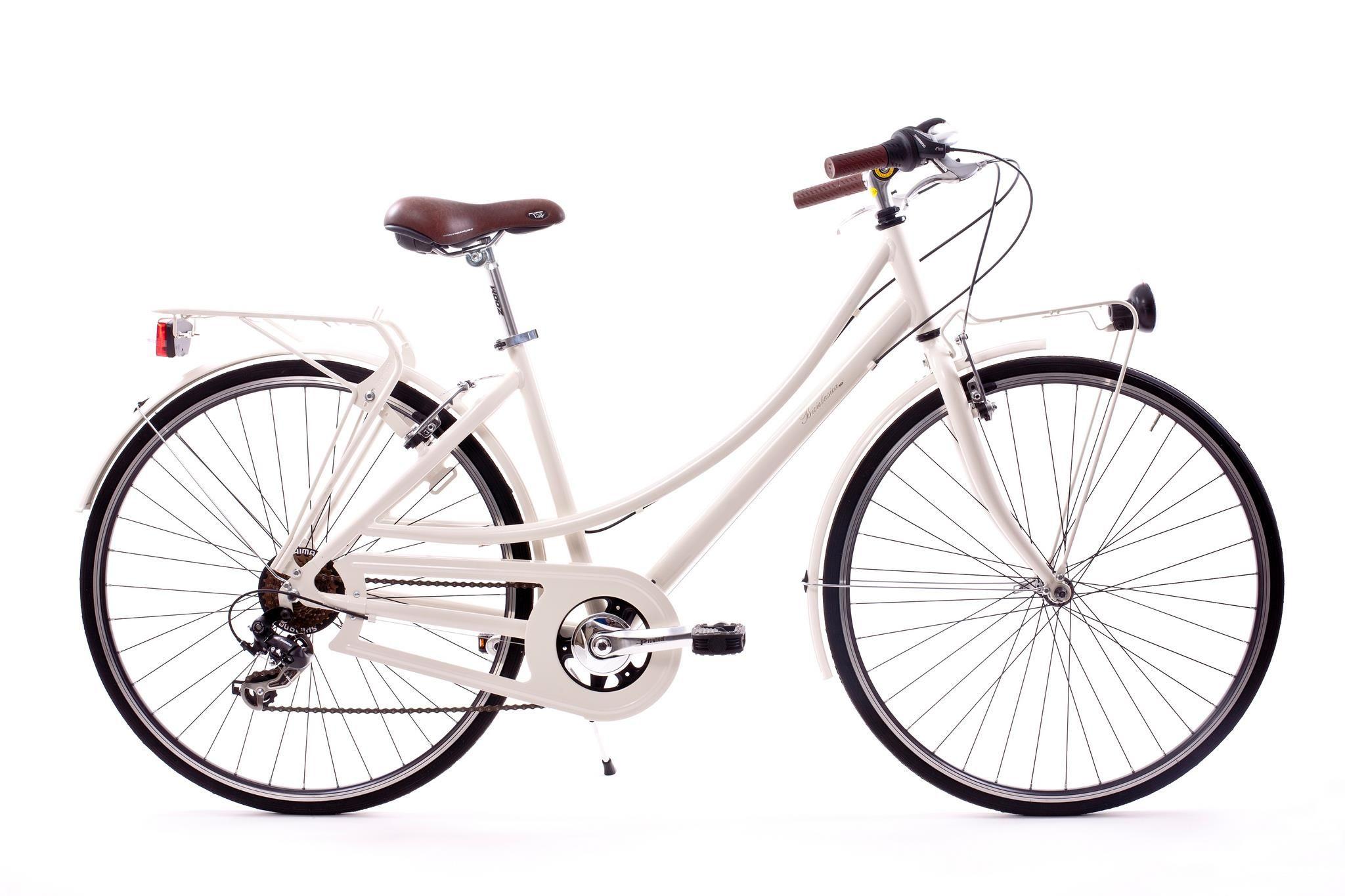 Dalia, bicicleta Retro de aluminio 7 velocidades www.biciclasica.com