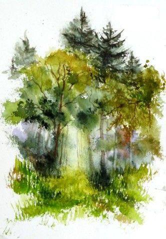 Pin Von Alexis Charlton Auf Watercolor 2 Wasserfarben
