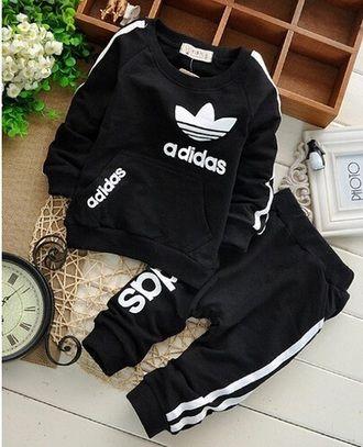 ab12a03c6aff jacket kids fashion kids with swag tracksuit adidas black