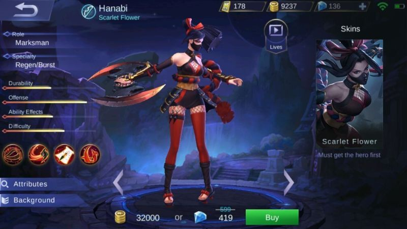 Mobile Legends Hanabi Item Build And Skill Strategy