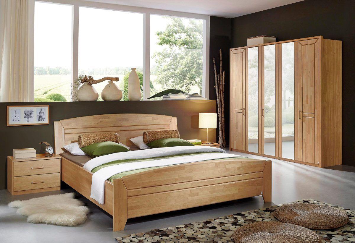 Rauch rauch STEFFEN Schlafzimmer-Set (4-tlg.), natur, Set mit 5-tg ...