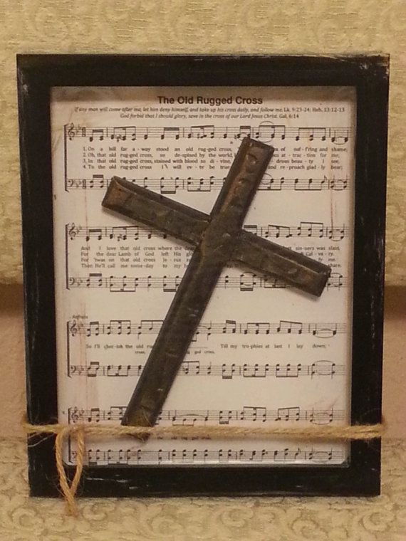 The Old Rugged Cross Background Is Placed In A By Comfyhomedecor 4000