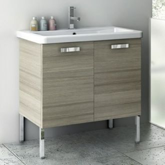 Incroyable 30 Inch Vanity Cabinet With Fitted Sink CP09