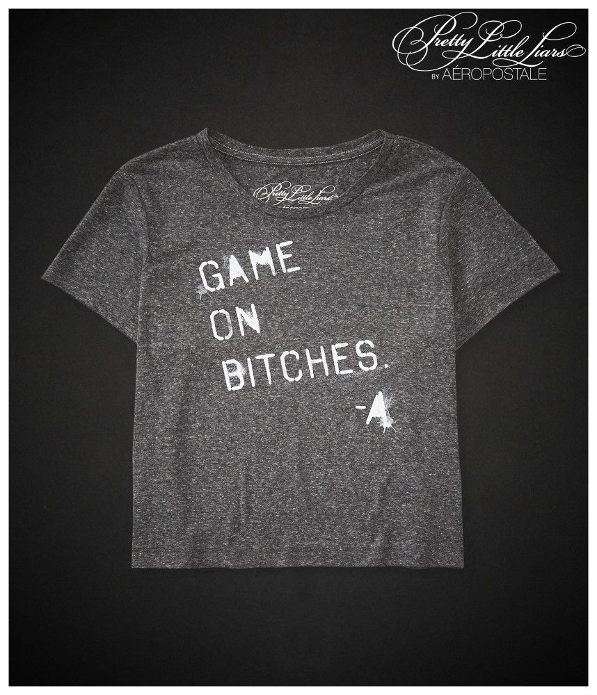 Pretty Little Liars Game On Boxy Crop Graphic T - Aeropostale ...