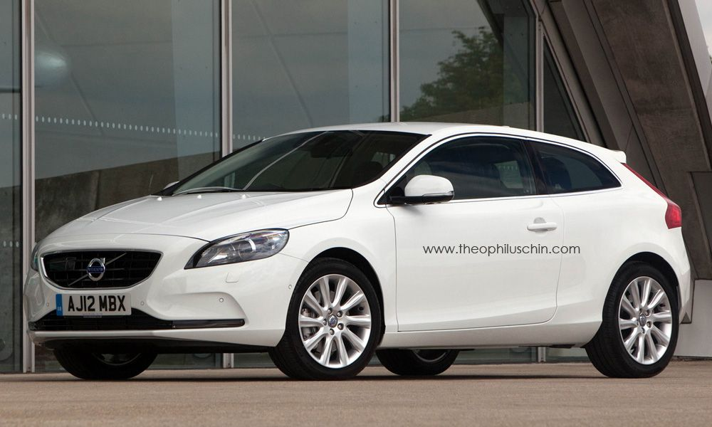c40 volvo concept by theophilus chin july 2012 he modified the v40