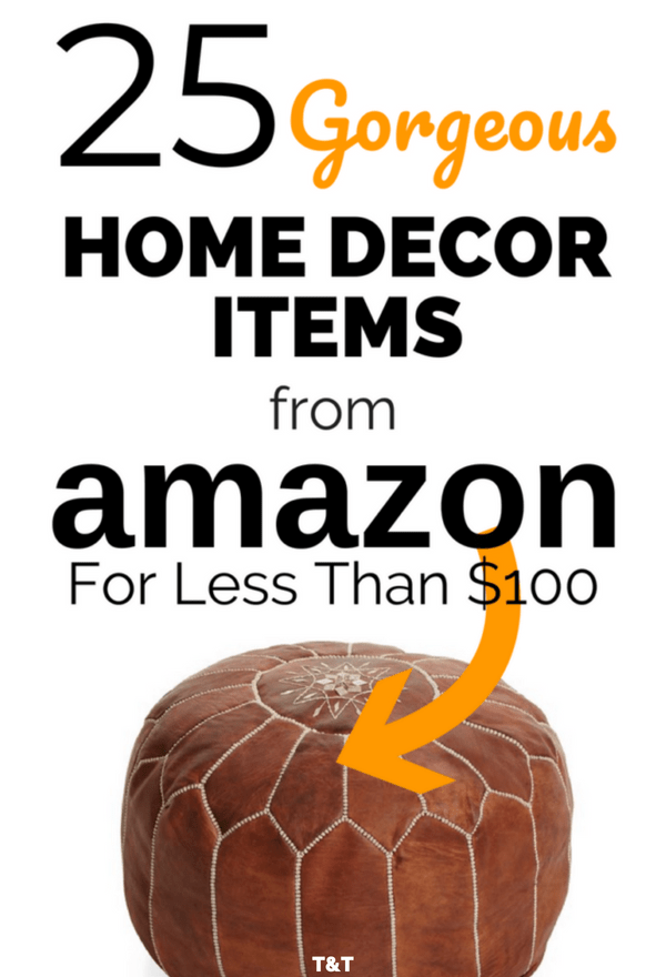 25 Gorgeous Home Decor Items From Amazon For Under 100 Trying And Thriving Amazon Home Decor Amazon Decor Home Decor Items