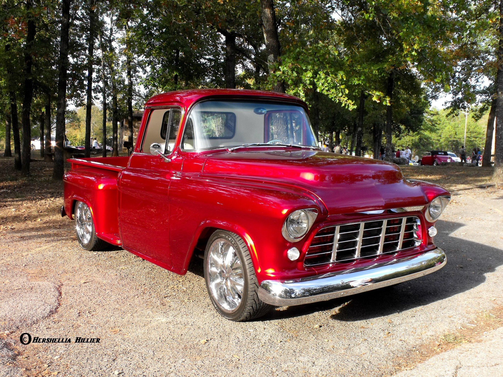 Candy apple red beauty! 1959 Chevy Truck, Classic Chevy Trucks, Classic  Cars,