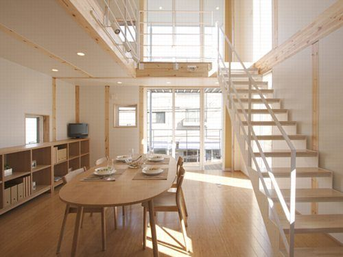 Japan 39 s clean and easy living giant muji designs small for Muji home design