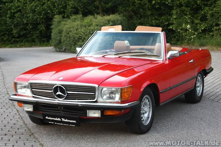 1972 mercedes mercedes 350 sl 1972 rot l r107. Black Bedroom Furniture Sets. Home Design Ideas