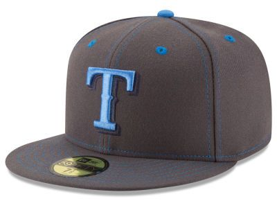 huge selection of 6a9b8 9fdfc Texas Rangers New Era 2016 MLB Fathers Day 59FIFTY Cap
