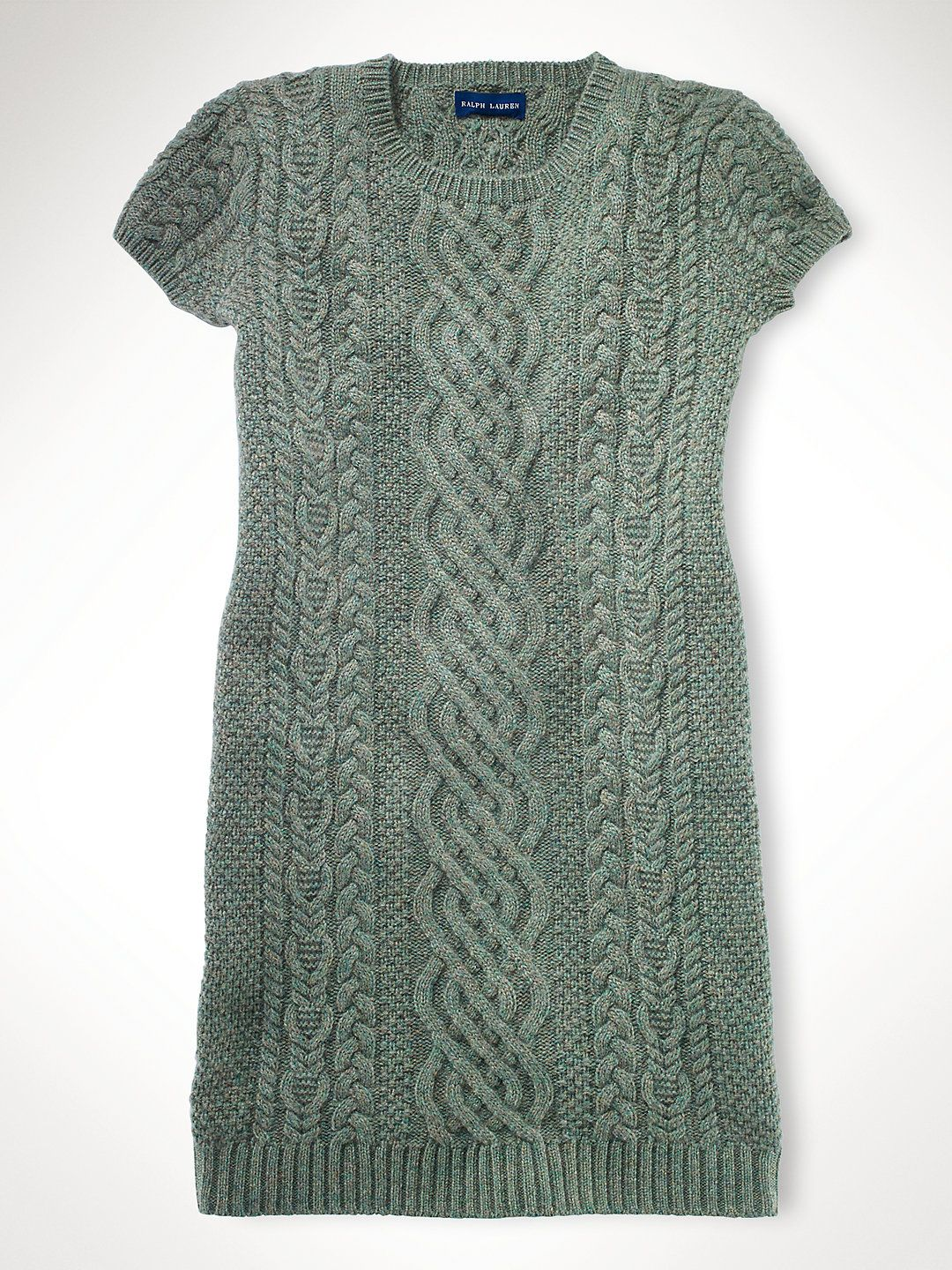 Aran Cashmere Sweater Dress - Dresses & Rompers   Girls 7–16 - RalphLauren.com