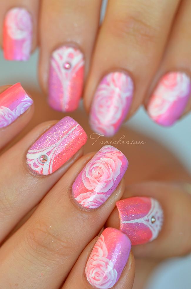 Beautiful pink nails by Tartofraises #nail #nails #nailart ...