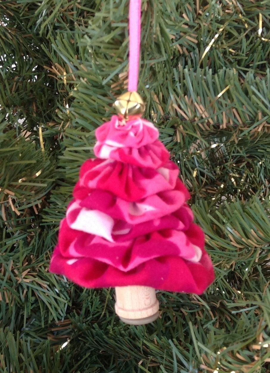 Pink Camo Christmas Ornaments Part - 16: Primitive Pink Camo Yo-Yo Christmas Tree Ornament By DoubleACreations On  Etsy