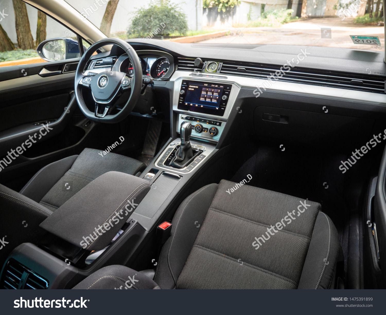 Minsk Belarus July 23 2019 Interior Of Volkswagen Passat B8 Being Based On The Mqb Platform The B8 Passat Has More Int In 2020 Interior Luxury Volkswagen Passat